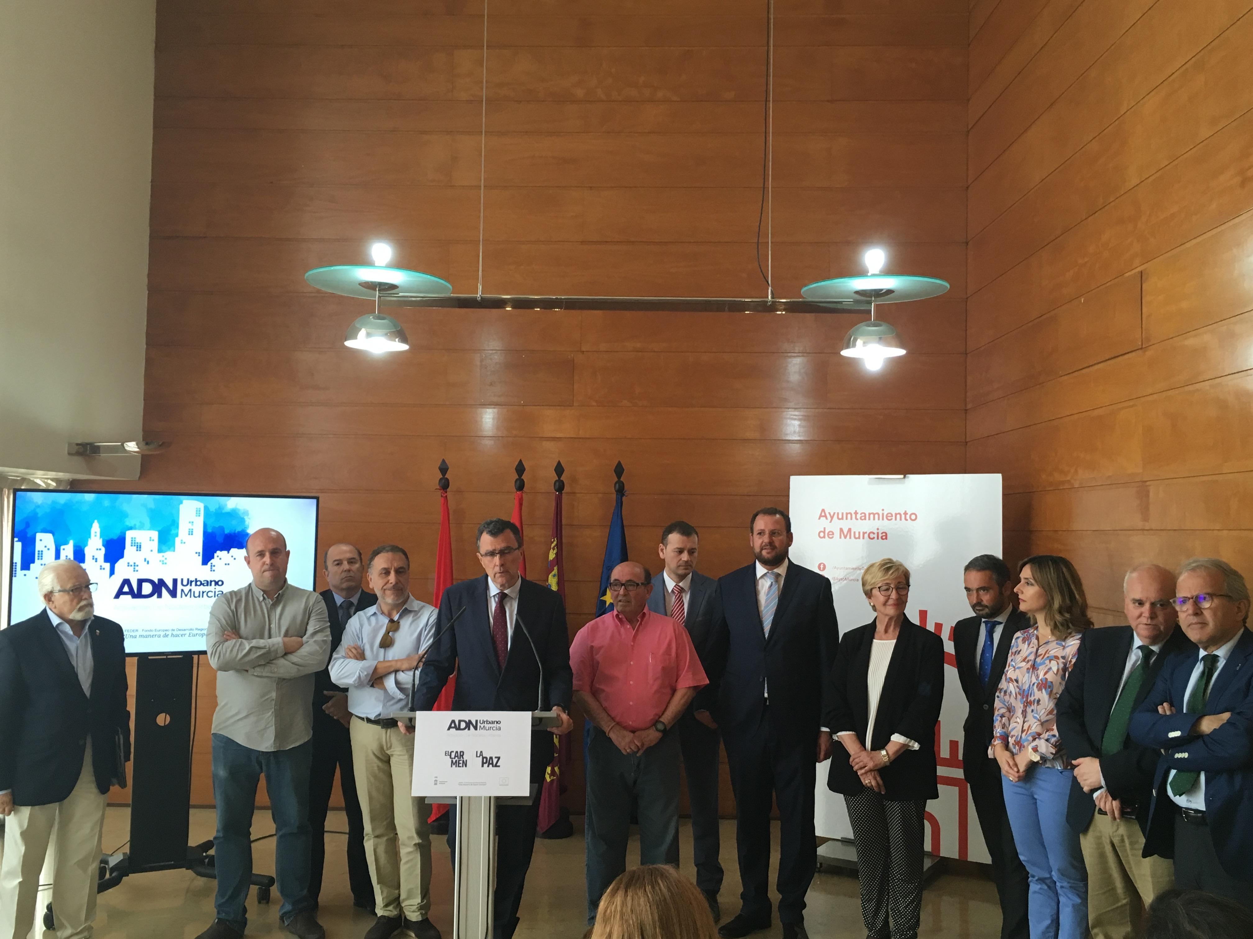 Rueda de prensa del proyecto ADN Urbano Murcia