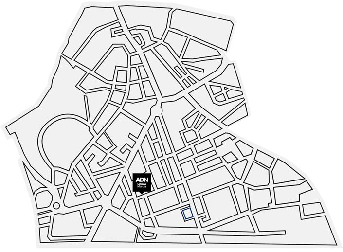 Calle Santa Úrsula y alrededores