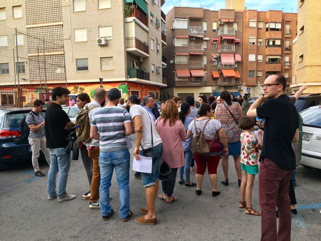 Buena acogida en el primer Paseo Urbano