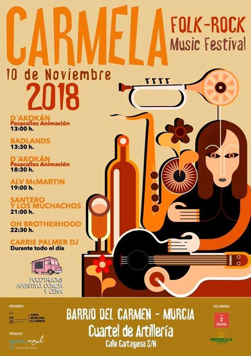 3ª Edición del Carmela Music Festival