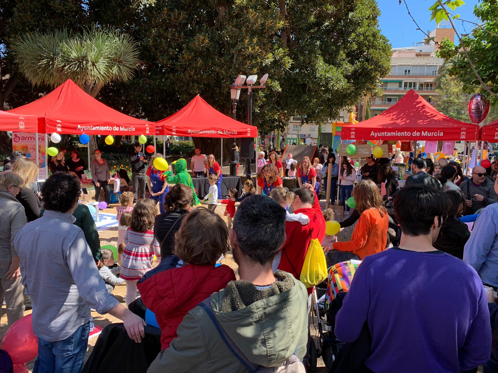 fotografía de la 3ª feria de comerciantes de El Carmen